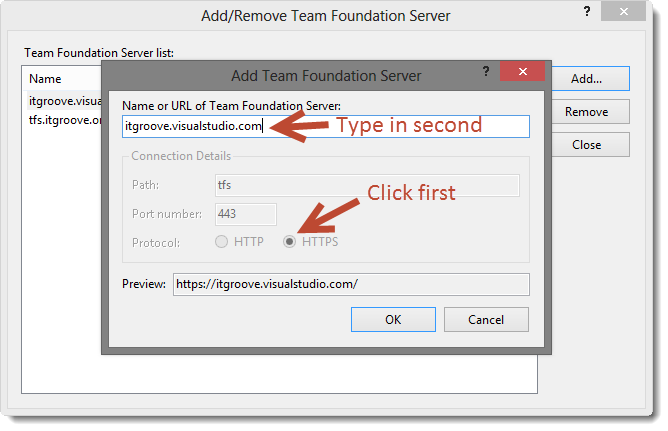 Add-Remove-Team-Foundation-Server