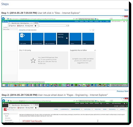 Windows-PSR-SharePoint-Problem-Steps-Recorder-Debugging